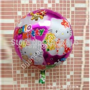 Toptan folyo balon yuvarlak hell kity ,Toptan Satış