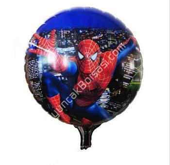 Toptan folyo balon yuvarlak örümcek adam ,Toptan Satış