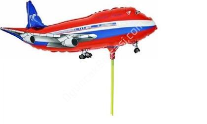 Çubuklu folyo balon uçak model ,Toptan Satış