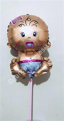 Çubuklu folyo balon bebek model ,Toptan Satış