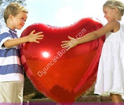 Toptan folyo balon kırmızı kalp orta  ,Toptan Satış
