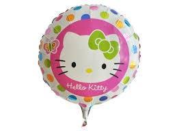 Toptan Folyo balon Hello kity yuvarlak ,Toptan Satış