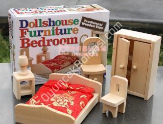ahşap yatak odası seti oyuncağı ,Toptan Satış