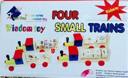 toptan ahşap oyuncak 4 lü tren seti ,Toptan Satış