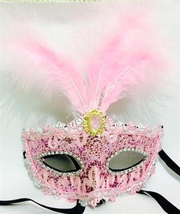 toptan parti maskesi taşlı ve tüylü maske ,Toptan Satış