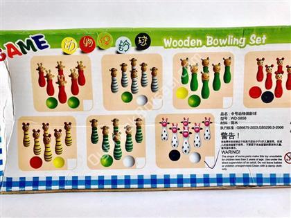 toptan ahşap oyuncak bowling seti ,Toptan Satış