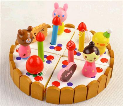 ahşap pasta oyuncağı ahşap oyuncak satışı ,Toptan Satış