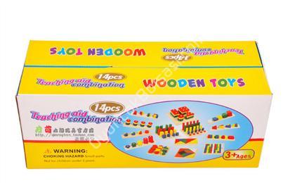 toptan ahşap zeka oyuncağı 14 parça zeka seti ,Toptan Satış