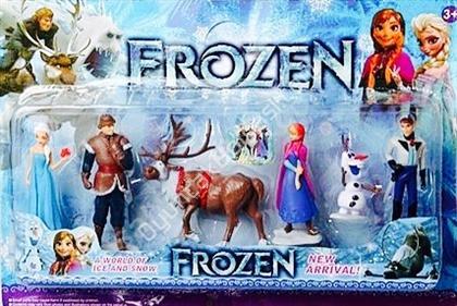 Toptan oyuncak Frozen karlar ülkesi oyuncak seti ,Toptan Satış