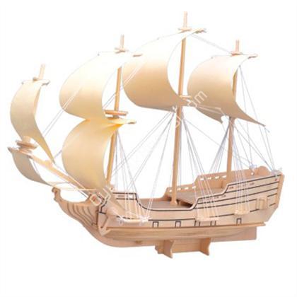 toptan ahşap puzzle 5 plakalı gemi G-P128 ,Toptan Satış