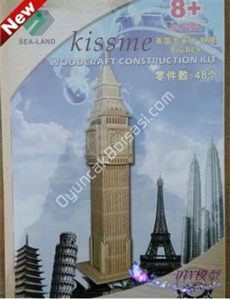 toptan ahşap puzzle londra saat kulesi G-P241 ,Toptan Satış