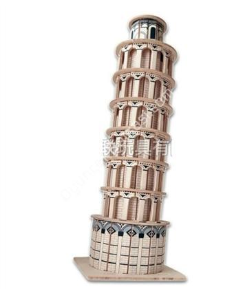 toptan ahşap puzzle pizza kulesi G-P172 ,Toptan Satış