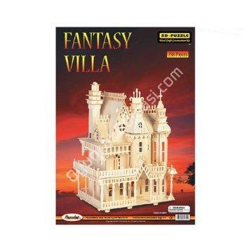 toptan ahşap puzzle fantasy villa G-DH004 ,Toptan Satış