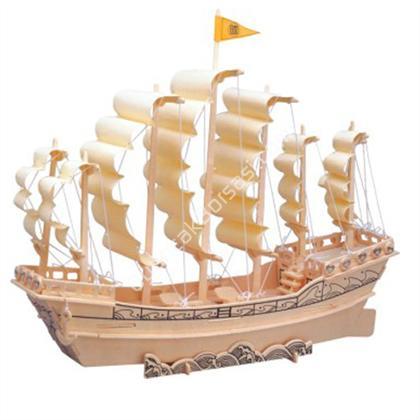 toptan ahşap puzzle gemi maketi G-P131 ,Toptan Satış