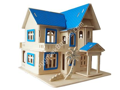 toptan ahşap puzzle fantastik villa G-AH001 ,Toptan Satış