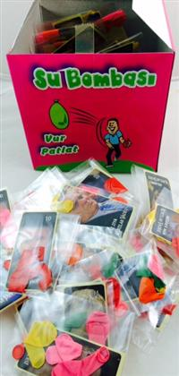 toptan su balonu kutulu sticker hediyeli ,Toptan Satış