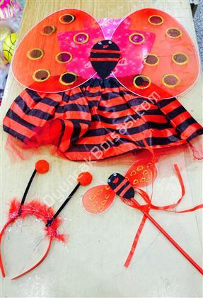Etekli uğur Böceği kanat seti 23 Nisan kostümleri ,Toptan Satış