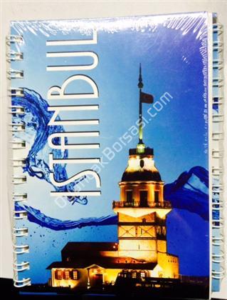 Toptan Not defteri İstanbul Kız Kulesi model ,Toptan Satış