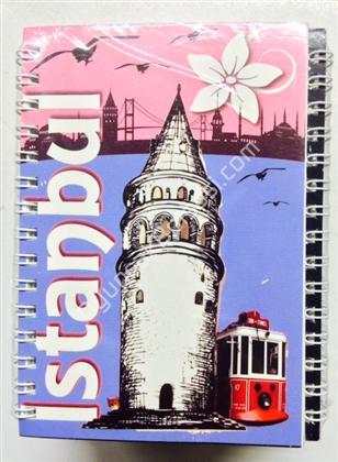 Toptan Not defteri İstanbul Galata Kulesi model ,Toptan Satış