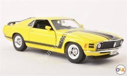 1970 Ford Mustang Boss 302 toptan dieacast araba ,Toptan Satış