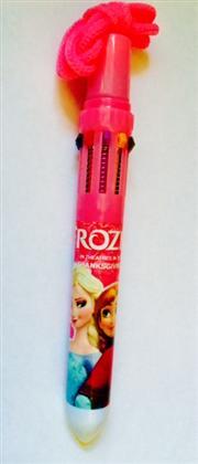 Frozen 10 renk tükenmez kalem ,Toptan Satış