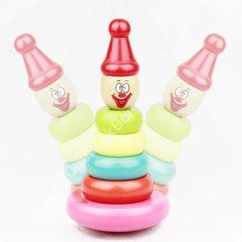 toptan ahşap zeka oyuncakları renkli kule oyunu ,Toptan Satış