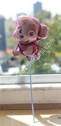 toptan folyo balon çubuklu pembe köpek modeli ,Toptan Satış
