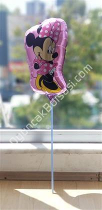 toptan çubuklu folyo balon mini mause kız modeli ,Toptan Satış