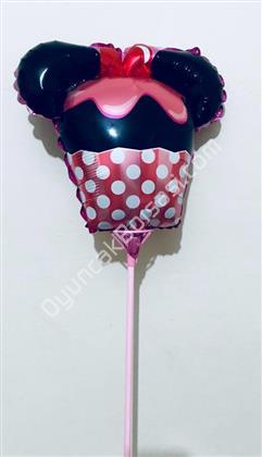 toptan çubuklu folyo balon mini mause başlığı ,Toptan Satış