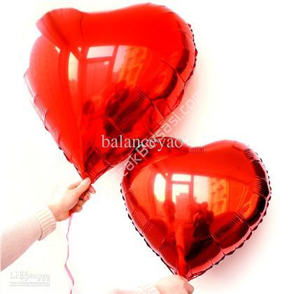 toptan folyo balon kırmızı kalp 18 inç ,Toptan Satış