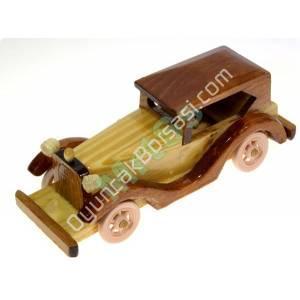 ahşap oyuncak klasik araba orta boyu ,Toptan Satış