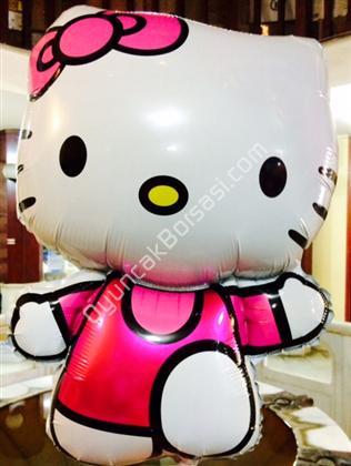 folyo balon toptan sat��� hello kity yaz�l� model ,Toptan Sat��