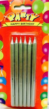toptan doğum günü mumu kalem model kurşuni renk ,Toptan Satış