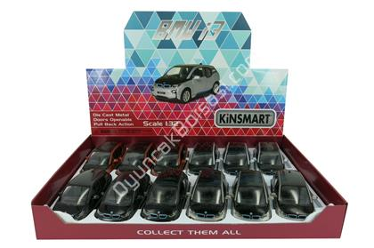 Kinsmart BMW i3 132 Metal Çek Bırak araba ,Toptan Satış