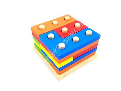 toptan oyuncak ahşap  geometrik şekil sıralayı ,Toptan Satış