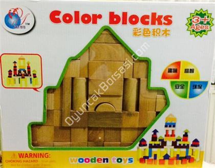 toptan oyuncak ahşap ham bloklar 54 parça ,Toptan Satış