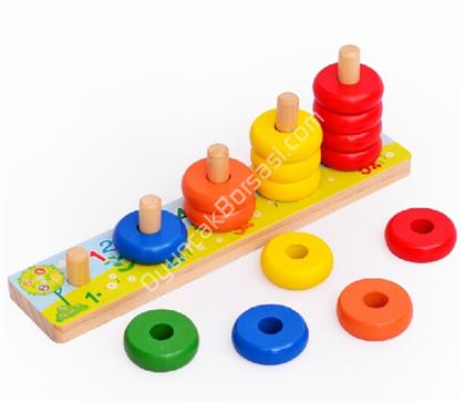 toptan ahşap oyuncak 5 li boncuk abaküs geçmeli ,Toptan Satış