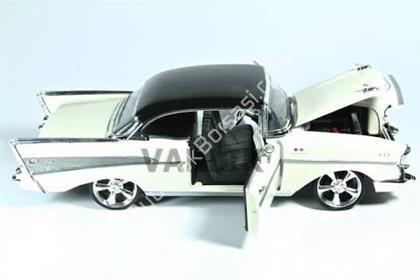 Toptan model araba 1957 Chevy bel air beyaz ,Toptan Satış