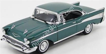 Toptan model araba 1957 Chevy bel air yeşil ,Toptan Satış