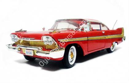 Toptan model araba 1958 Plymouth FURY KIRMIZI ,Toptan Satış