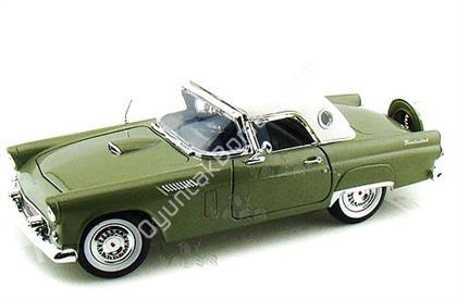 Toptan model araba 1956 FORD THUNDERBIRD yeşil ,Toptan Satış