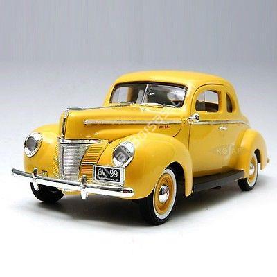 Toptan model araba 1940 FORD DELUXE SARI ,Toptan Satış