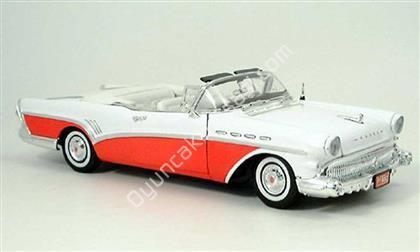 1957 buick roadmaster 118 model kırmızı beyaz ,Toptan Satış