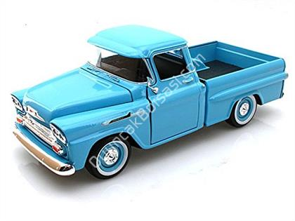 motor max 1955 chevy apache pickup mavi ,Toptan Sat��