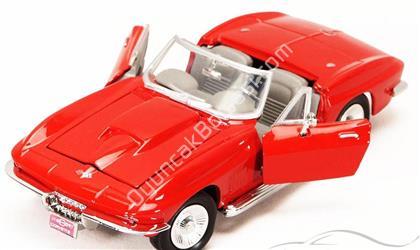 MOTOR MAX TOPTAN MODEL 1967 CORVETTE KIRMIZI ,Toptan Satış
