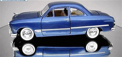 TOPTAN MODEL ARABA Motor max 1949 FORD COUPE MAVİ ,Toptan Satış