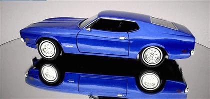 MOTORMAX 1971 FORD MUSTANG SPORTSROOF MAVİ ,Toptan Satış