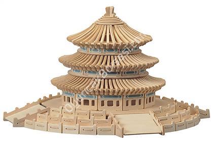 TOPTAN AH�AP MAKET 3D PUZZLE ��N TAPINA�I G-P075 ,Toptan Sat��