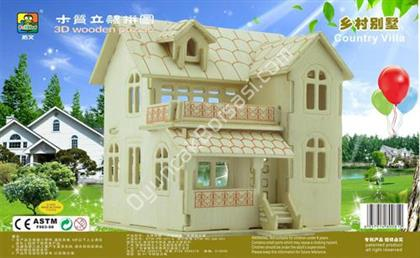 TOPTAN AHŞAP 3D MAKET VİLLA ,Toptan Satış
