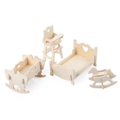 TOPTAN 3D AHŞAP MAKET bebek ODASI MODEL ,Toptan Satış
